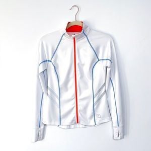 Fila Sport White Fitted Jacket